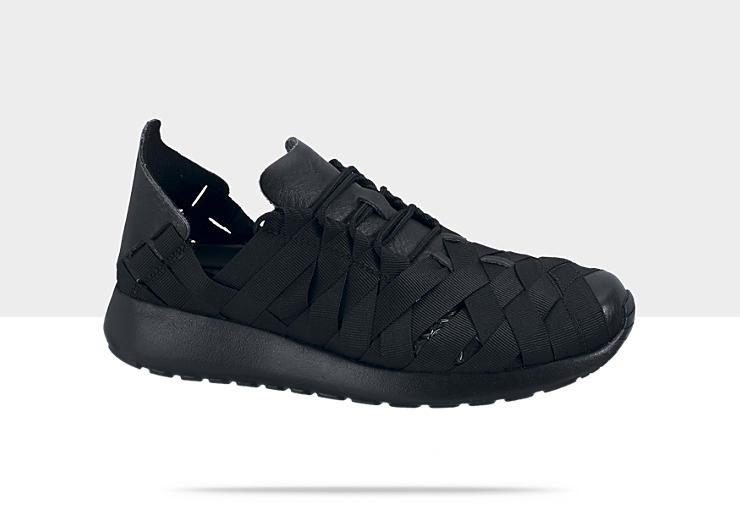 Nike WMNS Roshe Run Woven 'Black:Black'