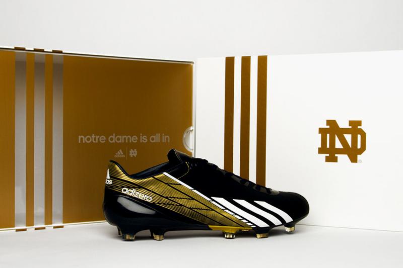 Notre Dame adidas adizero 5-Star 2.0