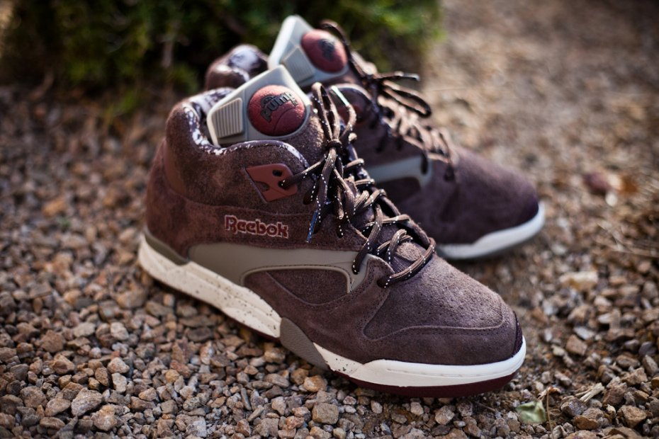 Reebok Court Victory Pump 'Grizzly'