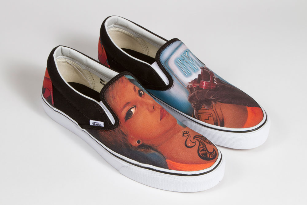 Vans Custom Culture Classic Slip On Black White Spring 2013