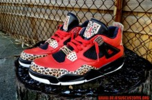 Air Jordan 4 'Trinidad James' Custom