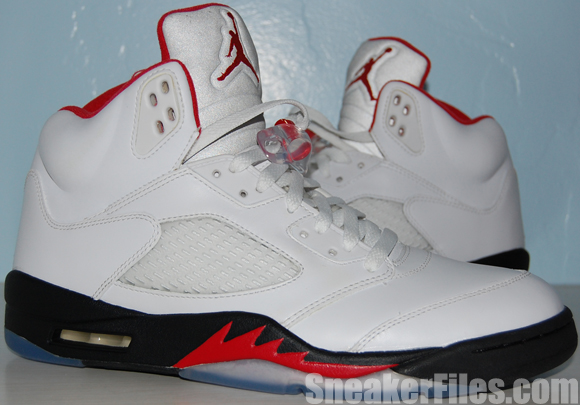 Air Jordan 5 (V) Fire Red 2013 Retro Video Review