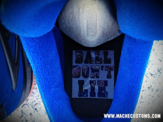 7ca4ba76e0 Air Jordan IV (4) 'Ball Don't Lie' Custom | SneakerFiles