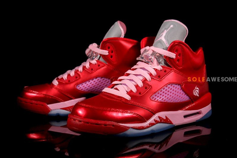 0f39ba70a82d Air Jordan V (5) GS  Valentine s Day