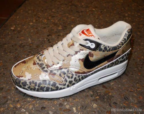 atmos x Nike Air Max 1 'Camo Pack' | SneakerFiles