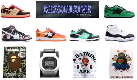 Blazing Hot Bapestas Now at Kixclusive | SneakerFiles