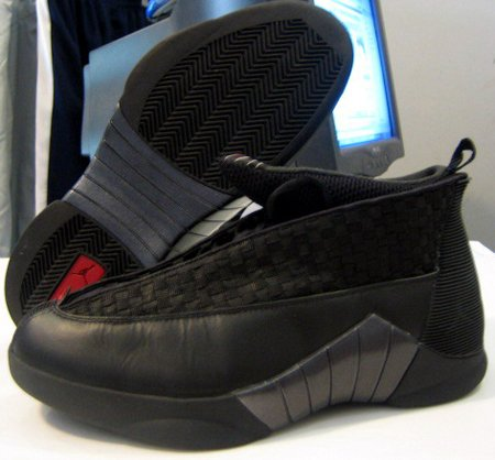 official photos ba334 ebc60 Air Jordan Retro 15 Black Red First Look   SneakerFiles