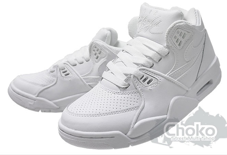 new style ff768 2f305 Nike Air Flight 89 GS - White