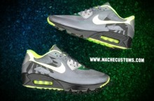 Nike Air Max 90 Hyperfuse 'Oregon' PE Custom