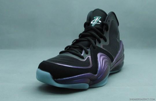 Nike Air Penny V (5)  Black Atomic Teal-Purple  e9e6028e7