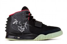 Nike Air Yeezy 2 Signed & Worn By Kanye West Up For Auction