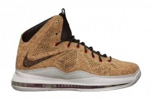 Nike LeBron X (10) 'Cork' | Official Images