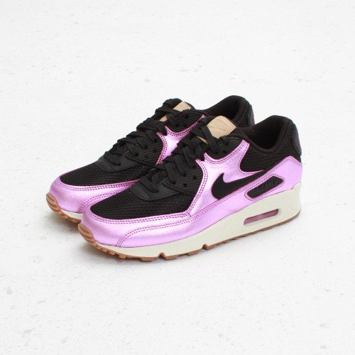 Nike Wmns Air Max 90 PREM Black Laser Purple