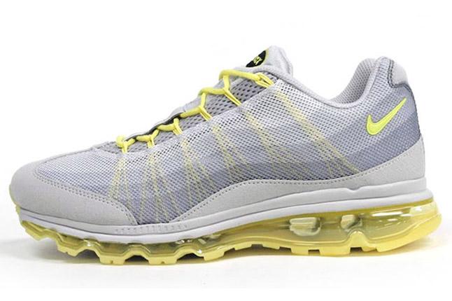 Кроссовки Nike Air Max 90 High синие с белым на меху