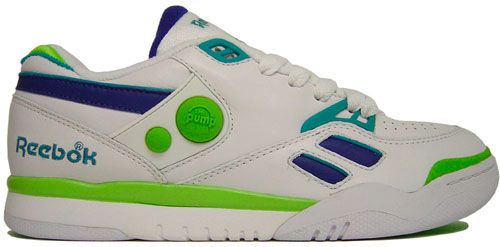 reebok pump court victory dual low white royal green. Black Bedroom Furniture Sets. Home Design Ideas