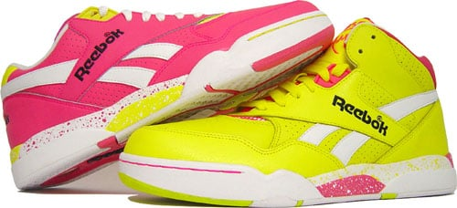 "... Reebok Reverse Jam Low and Mid ""PinkYellow"" Purchaze ... a33fc77b86"
