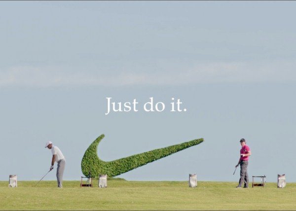 panel estante congelado  Tiger Woods & Rory McIlroy | Nike Golf Commercial | SneakerFiles