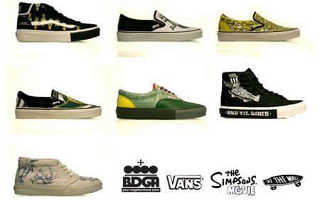Vans X Simpsons All 14 Releasing Sneakerfiles