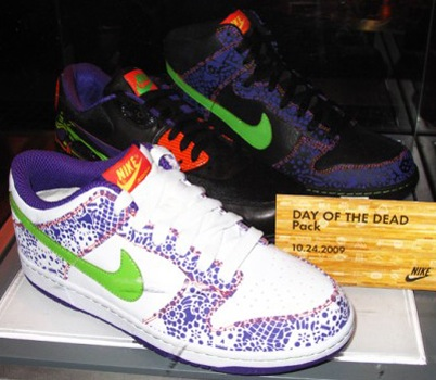 big sale babf4 da068 Nike Day of the Dead 2009 Collection free shipping