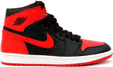 dfa9c93c9d6b8 Air Jordan 1 (I) 2001 Retro Black   Varsity Red