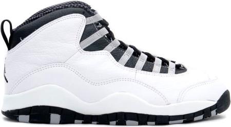 dd3068a7c481 Air Jordan Original - OG 10 (X) Steels White   Black - Light Steel Grey
