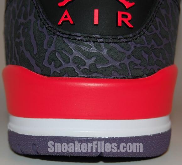 Air Jordan 3 (III) Bright Crimson 2013 Epic Look