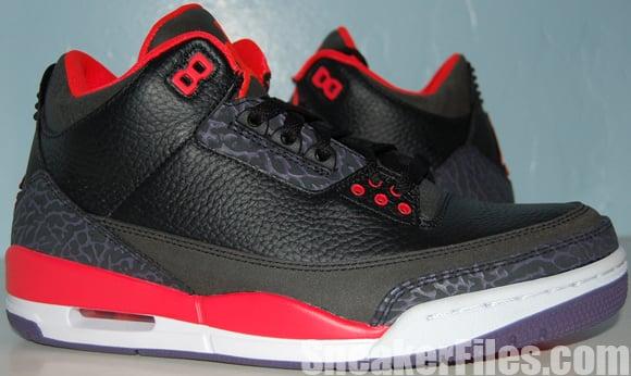 Air Jordan 3 (III) Bright Crimson 2013 Video Review