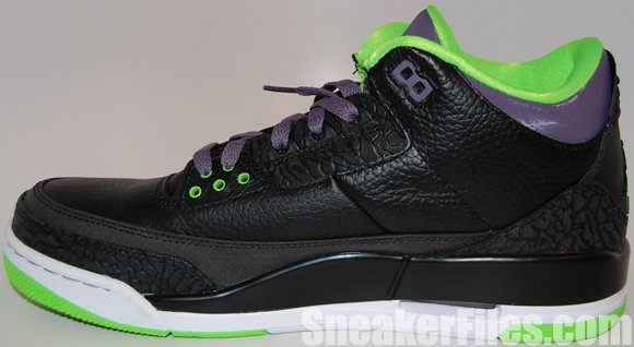 Air Jordan 3 (III) Joker Stealth All-Star Epic Look