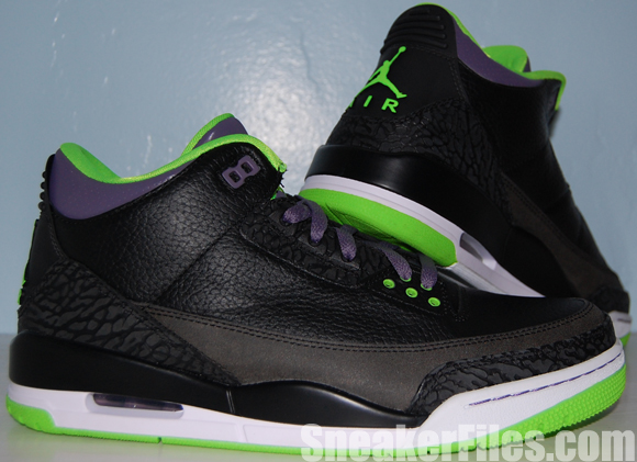 e8cbde28495 Air Jordan 3 Joker Stealth - All Star Video Review