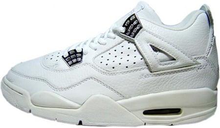 Air Jordan 4 (IV) Retro White / White - Chrome | SneakerFiles