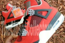 Air Jordan IV (4) 'Fire Red Suede' | New Images