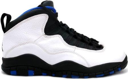 Air Jordan Original Og 10 X Orlando Magic White