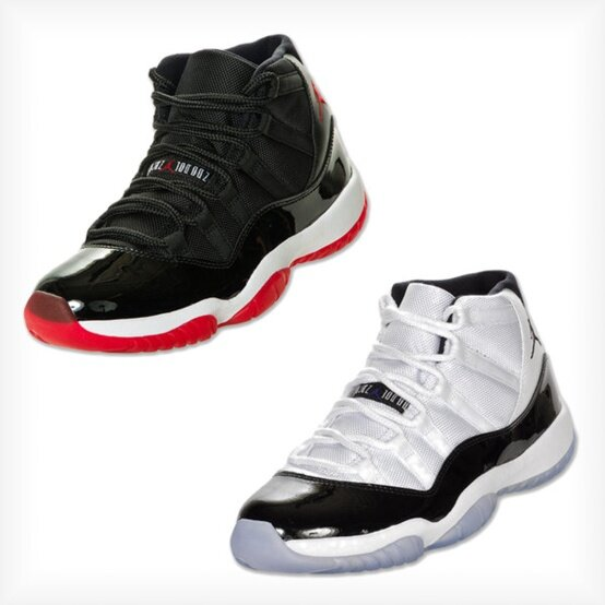 Real Vs Fake Retro 12: Air Jordan XI (11) 'Playoffs' & 'Concord' Restock @ Finish