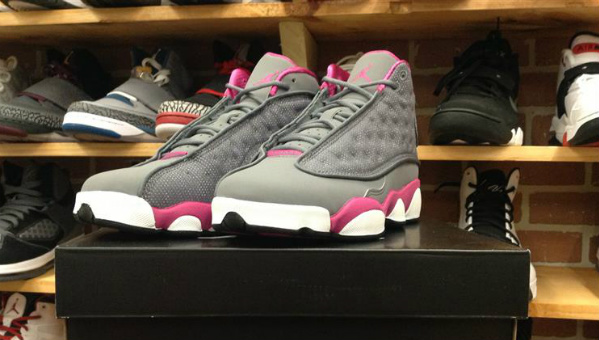 Air Jordan Retro XIII (13) GS 'Cool Grey/Fusion Pink-White' - Release Date + Info