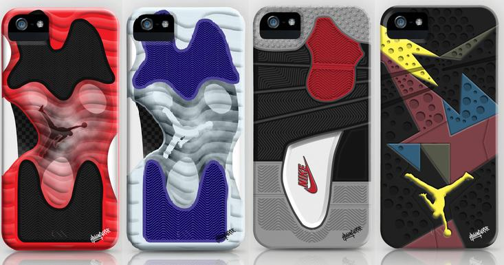 Air Jordan Sole Inspired iPhone Cases