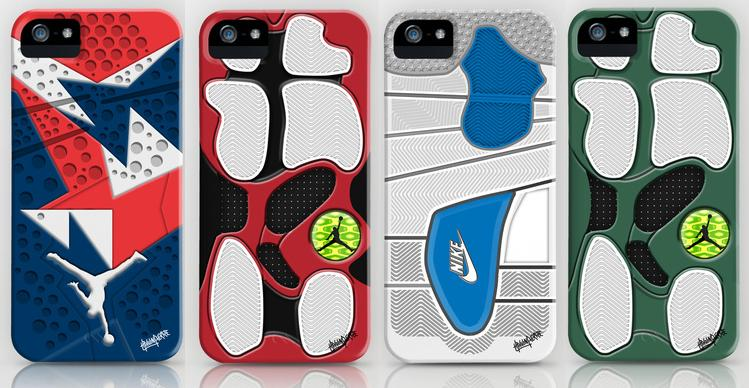 new arrival f3846 13cc1 Air Jordan Sole Inspired iPhone Cases | SneakerFiles