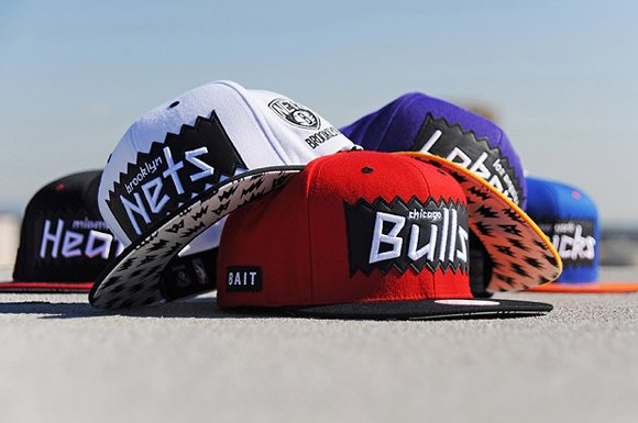 BAIT for NBA Mitchell Ness Snapback Collection