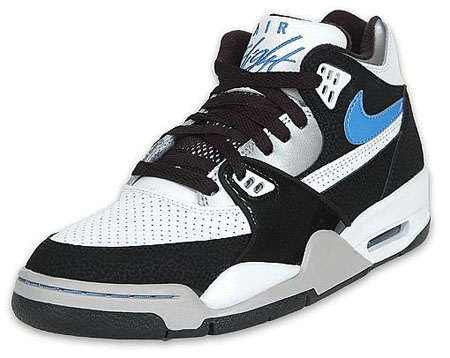 Nike Air Flight 89 White University Blue Black