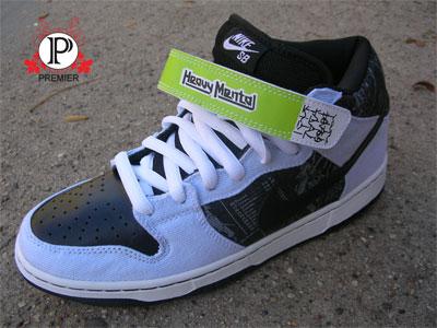 buy popular 93aa5 a1c99 Nike SB Dunk Mid Skate Mental Releasing Tomorrow  SneakerFil
