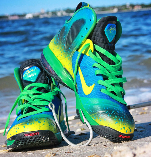 3e0ea6c5a5d2 Mahi Mahi Nike LeBron 9 Elite by Twizz Customs