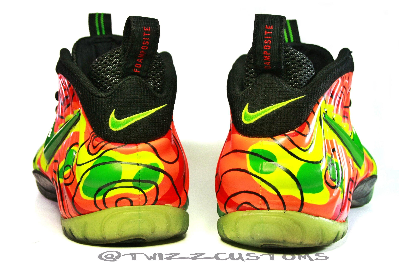07a2b4d9a95ec Nike Air Foamposite Pro  Weatherman  Custom