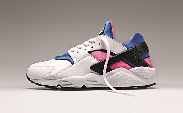 7b0367ebb768 Nike Air Huarache OG  White Game Royal-Dynamic Pink
