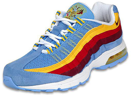 Nike Air Max 95 Zen University Blue Red Sneakerfiles