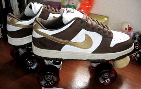 nike dunk sb rollerskate prototype sneakerfiles. Black Bedroom Furniture Sets. Home Design Ideas