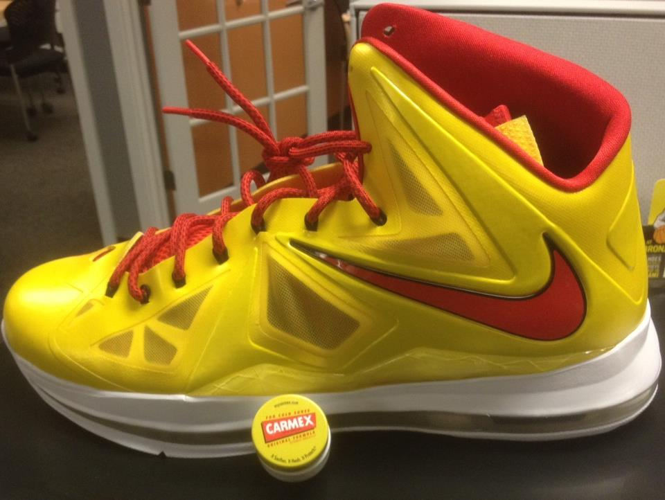 Nike Lebron X (10) 'Carmex' - First Look