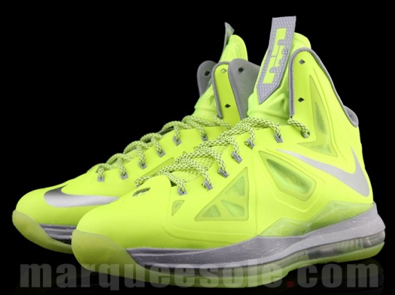 Lebron 10 Green And Yellow
