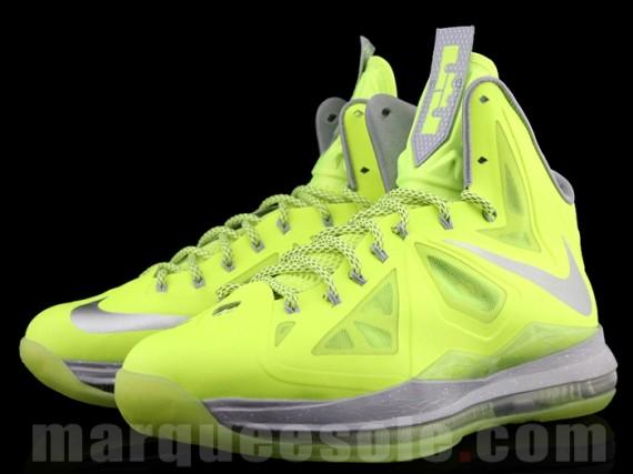 Nike Lebron X (10) Volt Release Info