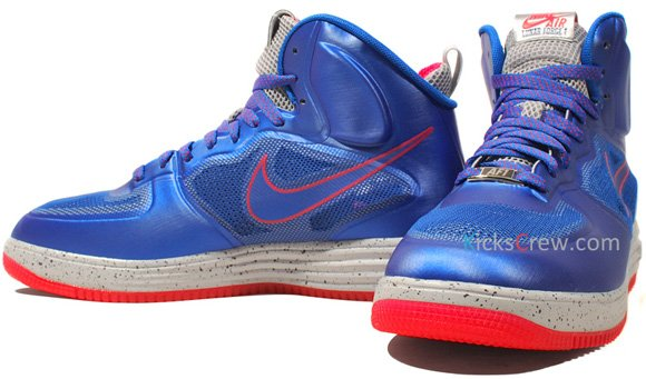 Nike Lunar Force 1 Fuse High - Game Royal Siren Red