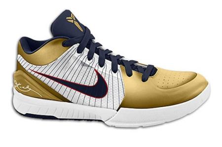 Nike Zoom Kobe Iv 4 Olympic Sneakerfiles
