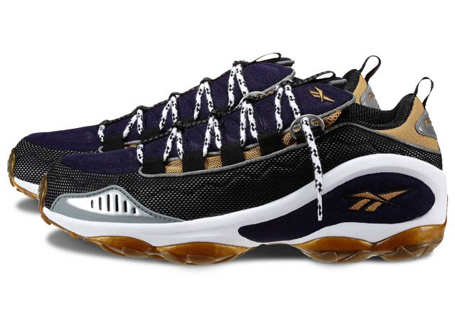 Reebok DMX Run 10 'Black/Purple-Gold